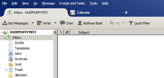 Tyhjä Inbox - GTD!